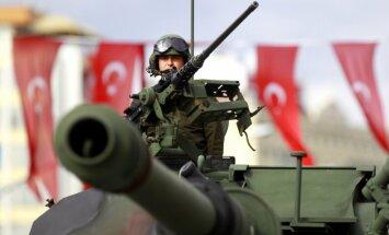 Turcijas armija esot par vāju, lai ASV ar to rēķinātos Sīrijā