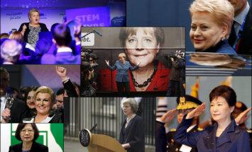14 женщин — мировых лидеров, которые составят компанию Терезе Мэй