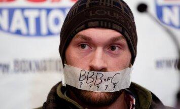 Фьюри дисквалифицирован Британским антидопинговым агентством