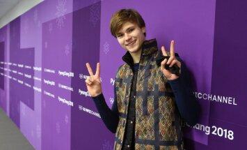Deniss Vasiļjevs olimpiskajā debijā Phjončhanā izcīna 19. vietu