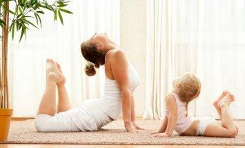 Kalnciema kvartālā notiks jogas nodarbības bērniem