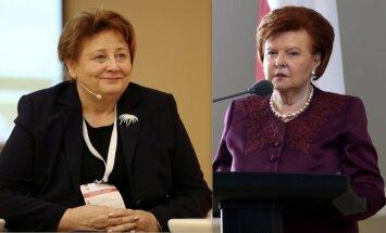 Vīķe-Freiberga un Straujuma saņēmušas starptautiskā foruma 'Sievietes - līderes politikā' apbalvojumu
