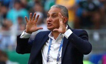 Tite paliek pie Brazīlijas izlases stūres; Japānas izlase tiek pie jauna galvenā trenera