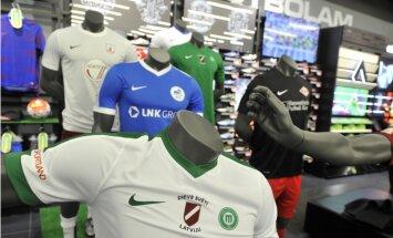 Foto: Latvijas futbola virslīga tiek pie jauna ģenerālsponsora