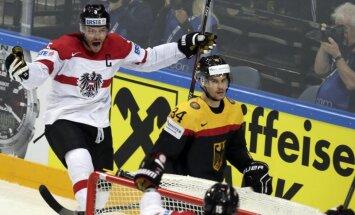 Австрийцы обыграли немцев, Латвии теперь хватает одного очка