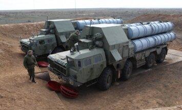 Maskava: Krievijas ieroči atturēs ārvalstis no intervences Sīrijā