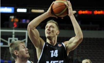 'VEF Rīga' atspēlē 17 punktu deficītu un uzvar Čehijā