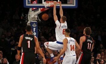 Porziņģis otro nedēļu pēc kārtas izvirzīts NBA labākā spēlētāja balvai
