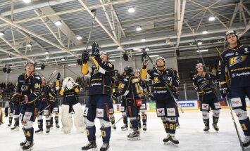 'Kurbads' sagrauj 'Donbass' un priekšlaicīgi pārvar IIHF Kontinentālā kausa otro kārtu