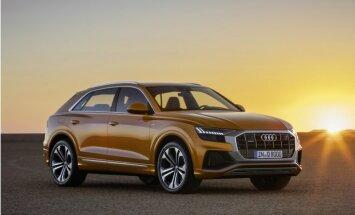 'Audi' uzsācis 'Q8' apvidnieka tirdzniecību Latvijā