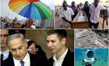 Nedēļa pasaulē: Kanāda pret ASV, Horvātija pret Slovēniju un Netanjahu dēla citāts