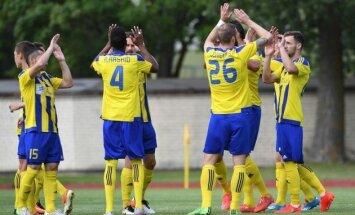 'Ventspils' mača izskaņā pieveic 'Spartaku' un saasina cīņu par Latvijas futbola troni