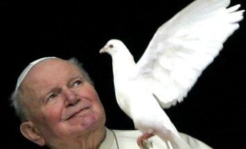 Jānis Pāvils II un Jānis XXIII svēto rindas papildinās aprīlī