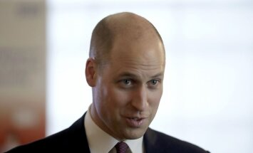 Princis Viljams dod mājienu par gaidāmā mazuļa dzimumu