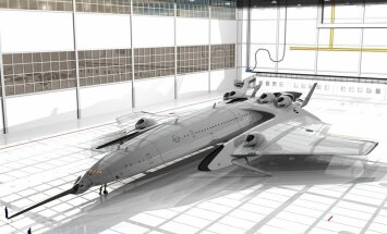 ФОТО: Испанский дизайнер показал сверхзвуковой самолет, который может долететь до Нью-Йорка за три часа