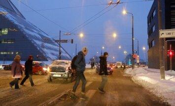 Ceturtdien daudzviet snigs slapjš sniegs un līs