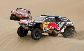 Deprē izcīna uzvaru Dakaras rallijreida otrajā posmā un kļūst par kopvērtējuma līderi