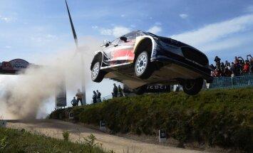 Pasaules čempions Ožjērs jau piekto reizi uzvar WRC posmā Portugālē