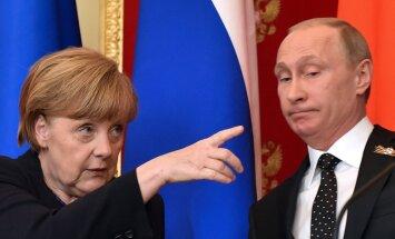 Меркель готова встретиться с Путиным лишь при определенных условиях