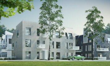 ФОТО: LNK за 7 млн евро построит в Юрмале элитное жилье