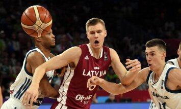 Porziņģis saglabā vietu starp labākajiem 'Eurobasket 2017' statistikā pēc 1/4 fināla spēlēm