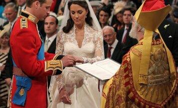 Karalisko kāzu jubileju gaidot: īsais Keitas un Viljama laulības stāsts