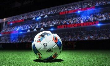 'adidas' izrāda EURO 2016 oficiālo bumbu 'Beau Jeu'