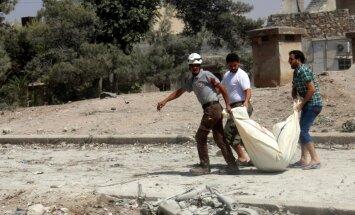 Sīrija 169 gūstekņus apmainīs pret piecu Krievijas karavīru līķiem