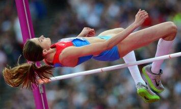 IAAF lems par titulētās krievu augstlēcējas Čičerovas sodu