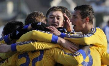 'Ventspils' futbolisti otrajā puslaikā salauž 'Jūrmalu', pārtraucot neveiksmju sēriju