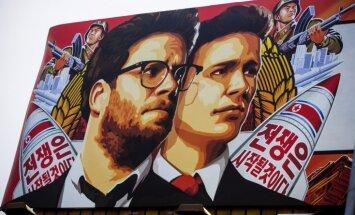 Draudu dēļ atceļ Ziemeļkoreju saniknojušās filmas 'The Interview' izrādīšanu