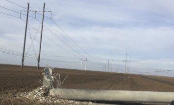 Krimā atslēdz arī apkuri; elektroapgādi sola atjaunot divu diennakšu laikā