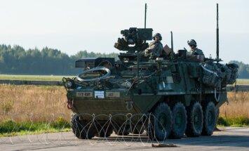 Lietuva lūgusi tai pārdot 84 bruņumašīnas 'Stryker', paziņo ASV