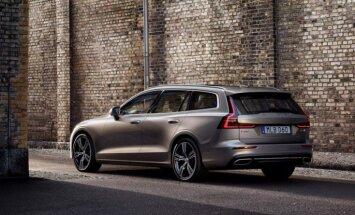 Trīs dienas Rīgā būs apskatāmas jaunais 'Volvo V60' universālis