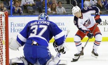 'Lightning' no AHL izsauc Gudļevska konkurentu Vasiļevski