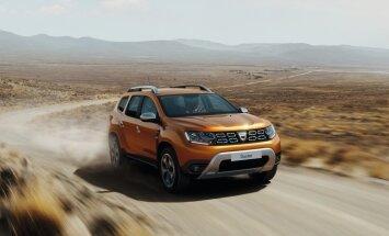 'Dacia' parādījusi jaunās paaudzes 'Duster' apvidnieku