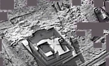 Video: Kā starptautiskās koalīcijas spēki brīvdienās 'Daesh' bombardēja