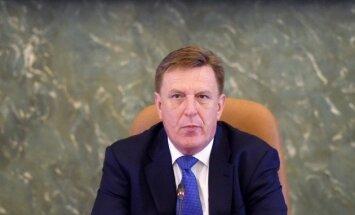 Премьер о разделе Latvijas gāze: не можем играть с Калвитисом открытыми картами