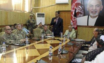 Apšaudē Afganistānas un NATO drošības sanāksmē nogalināts policijas priekšnieks