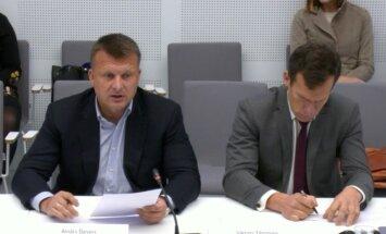 'Oligarhu lietas' izmeklēšanas komisija izvaicā Šleseru