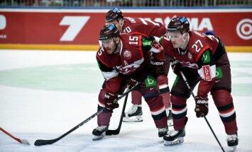 Latvijas hokeja izlases sākotnējā pieteikumā iekļauti 22 spēlētāji
