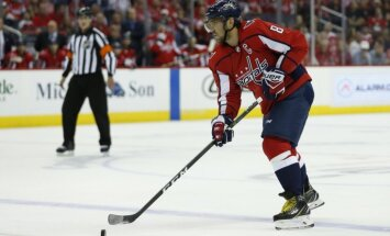 Ovečkins tiek atzīts par NHL jaunās sezonas pirmās nedēļas spožāko zvaigzni