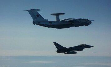 Pie Latvijas robežas jau otro dienu manīta Krievijas armijas izlūkošanas lidmašīna