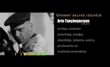 Festivāla 'Porta' viesis Arto Tunčbojadžans – nabagākais 'Grammy' īpašnieks