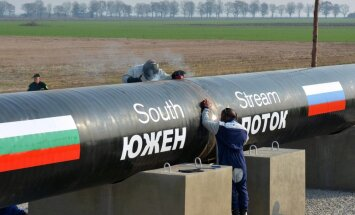 'Bloomberg': 'South Stream' projekta pārtraukšana ir Krievijas sakāve