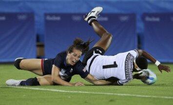 Rio olimpisko spēļu sieviešu regbija-7 turnīra rezultāti (07.08.2016.)