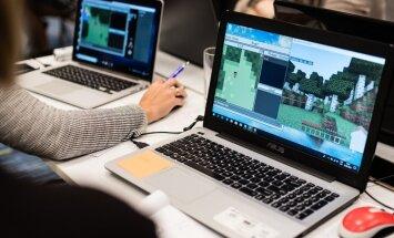 Būvēs pilskalnus un piramīdas – 12 skolās mācību saturu apgūs 'Minecraft' spēlē