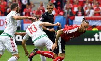 ВИДЕО, ФОТО: Венгры обыграли Австрию в стартовом матче Евро-2016