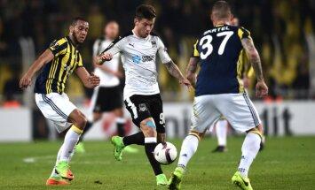 Krasnodar Fyodor Smolov, Fenerbahce midfielder Souza, Martin Skrtel