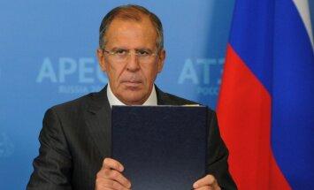 Ukrainas nemieri: ES ārlietu ministri nerod kopīgu valodu ar Lavrovu